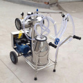 Movable milking machine for dairy cows