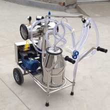 One Barrel Vacuum Pump Portable Milking Machine