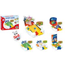 5 en 1 juego de deporte conjunto de juguetes deportivos (h5005016)