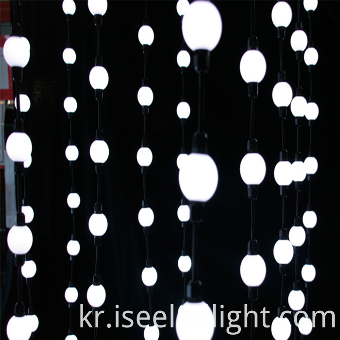 Diameter 50mm led ball sphere