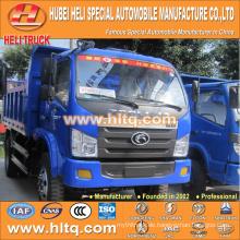 China-Lieferant FOTON 4X2 5tons Last 102hp Kipper LKW mit hoher Qualität und konkurrenzfähiger Preis für Export in Afrika