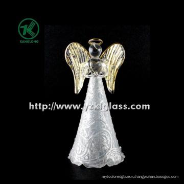 Стеклянный угольник, удерживающий сердце для домашнего украшения от BV, SGS (диаметр 8 см: 16,5 см)