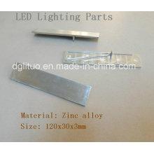 Iluminación LED Zinc Aleación Die Casting Parts