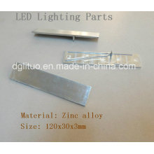 LED Lighting Zinc Alloy Die Casting Parts