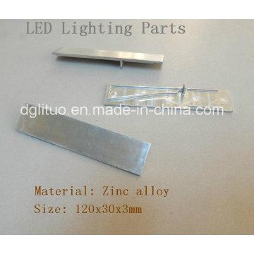 LED Lighting Zinc Alloy Die Casting Parts