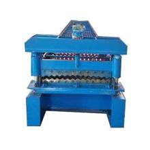Rolo ondulado de aço galvanizado de placa fina que forma a máquina