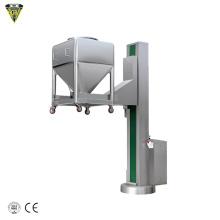 pharmaceutical fixed arm bin lifter elevator for bin