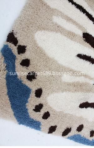 machion made microfiber rug