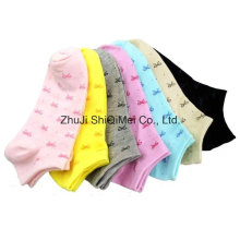 Wholesales Custom Cotton Polyester Lady Ankle Boat Socks