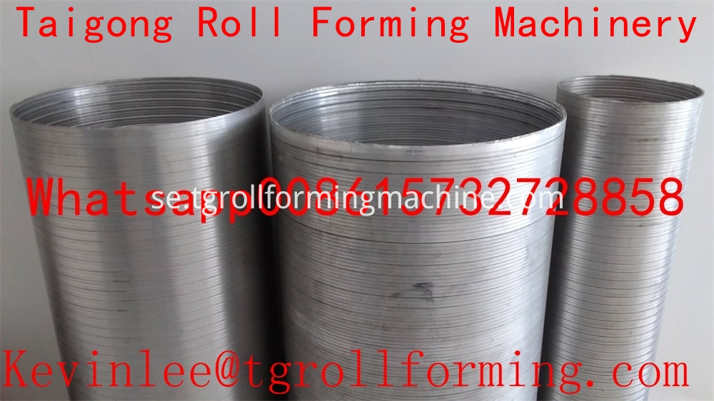 Aluminum Coil Roll Forming Machine