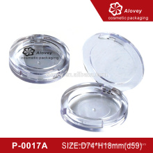 OEM Luxury Round Empty Compact Powder Case