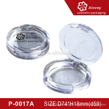 OEM Luxury Round Empty Compact Powder Case