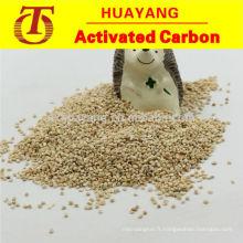L'épi de maïs abrasif et polissant rend la machine brillante et brillante