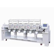 Máquina do bordado com 12 agulhas 6 cabeças apropriadas para o tampão / t-shirt (TLC-1206)