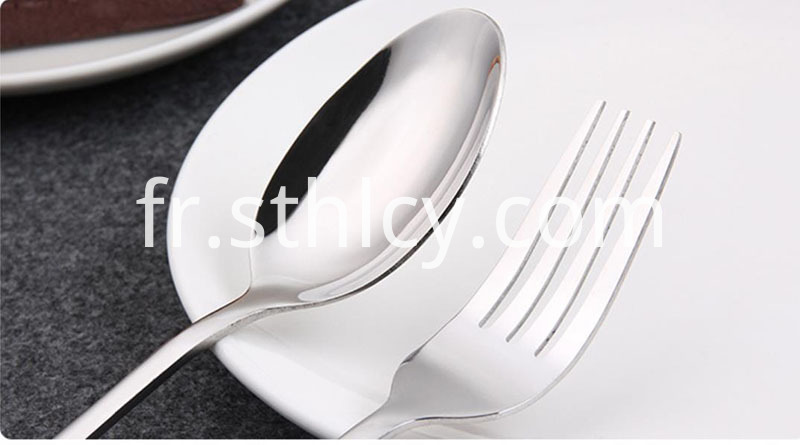 Durable safety children's knife spoon (2)
