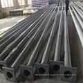Q235 Galvanized Metal Poles for Lighting, Steel Round Pole Price for 12m Outdoor Pole