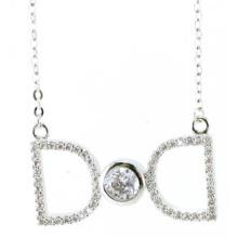 Новый дизайн для женщин ожерелье 925 Серебряные украшения (N6650)