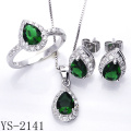 New Design Jewelry Set Heart Shape 925 Silver Jewelry.