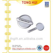 Impression personnalisée en argent logo Plaque métallique / accessoires