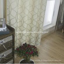 Top Sell 100% Polyester Leinen Berührungsfenster Vorhang