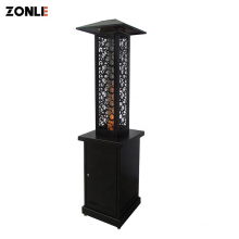 Zonle Automatic Burning Wood Weeding Stove Modern Pellet Stove Outdoor Patio Fireplace
