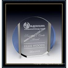 "Plaques Crystal Award / Plaque Circle 6 ""H (NU-CW722)"