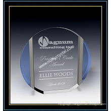 "Crystal Award Plaques / Circle Plaque 6"" H (NU-CW722)"