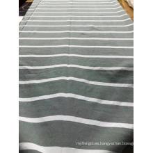 Hilados de rayas teñidos de poliéster para textiles para el hogar