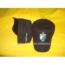 Chapeaux militaires ou chapeaux de l'armée avec logo de broderie