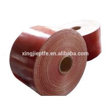 Tissu de silicone en fibre de verre unilatéral / double main fabriqué en Chine