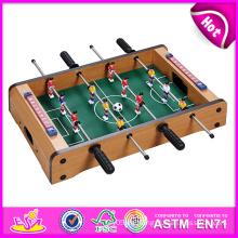 2014 lustige Mini Holz Spieltisch Spielzeug, Indoor 5 Spiele in 1 Spielzeug, Holzspielzeug Spieltisch für Zuhause, Heißer Verkauf Tisch Spiel Spielzeug Fabrik W11A029