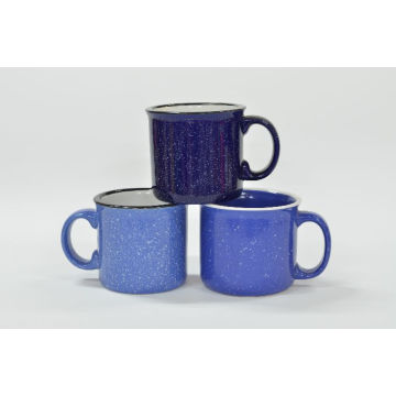 Spotted Blue Cup