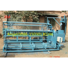 4m Width Width Full Automatic Double Wire Chain Link Fence Machine