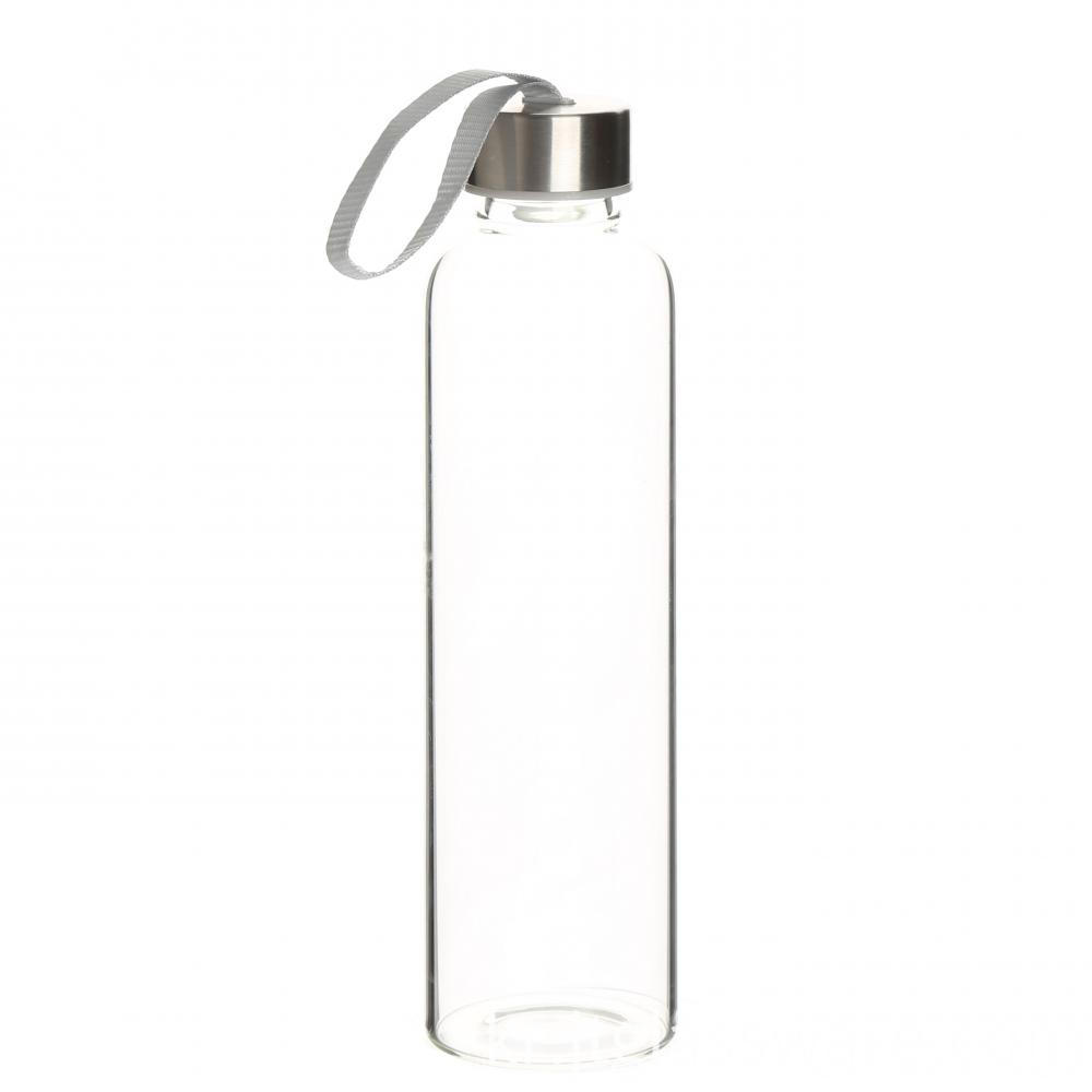 1Hot selling new design glass water bottles