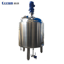 Stainless Steel Liquid Mixing Tanks/ Sus304 Mixing tank with agitator