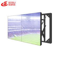 huge big advertising led tv wall