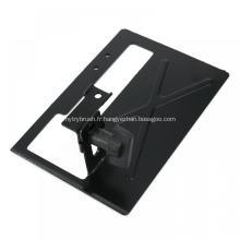 Support de support de meuleuse d'angle en métal enduit de poudre