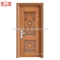 Turkey Main Steel Security Door Exterior Safety Door handle lock