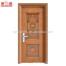 стальной дизайн передней двери главного gatefire Номинальная стальные двери кожи