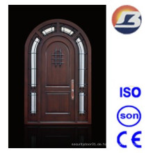 Special Design Außenansicht Meranti Solid Wooden Door
