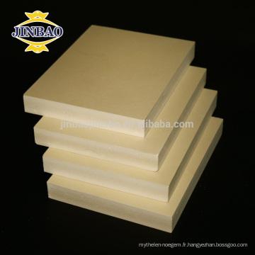JINBAO imperméabilisent le panneau de mousse de PVC WPC / panneau de celuka de pvc