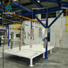 New Automatic Efficient Customized Multi-power Aluminum Powder Coating Line
