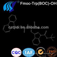 Mejor precio de fábrica para comprar Fmoc-Trp (BOC) -OH / N-alfa-Fmoc-N (en) -Boc-L-triptófano Cas No.143824-78-6