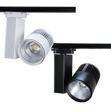 30W Exhibition Lighting Aluminium Housing Led Track Light