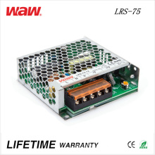 Водитель ЛРС-75 75ВТ импульсный источник питания 24В 3А объявлений/DC светодиодные