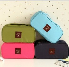 Multifunctionele reizen opslag zak ondergoed Pouch cosmetische zak geval waterdichte Travel Bag 5 verschillende kleuren