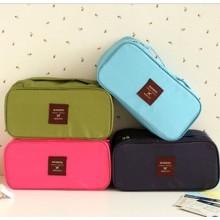 Multifonctionnel voyage stockage sac sous-vêtements pochette cosmétique sac cas imperméable à l'eau voyage sac 5 couleurs différentes