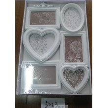 6 Opening Wall-Hanging Plastic Multiple Photo Frame