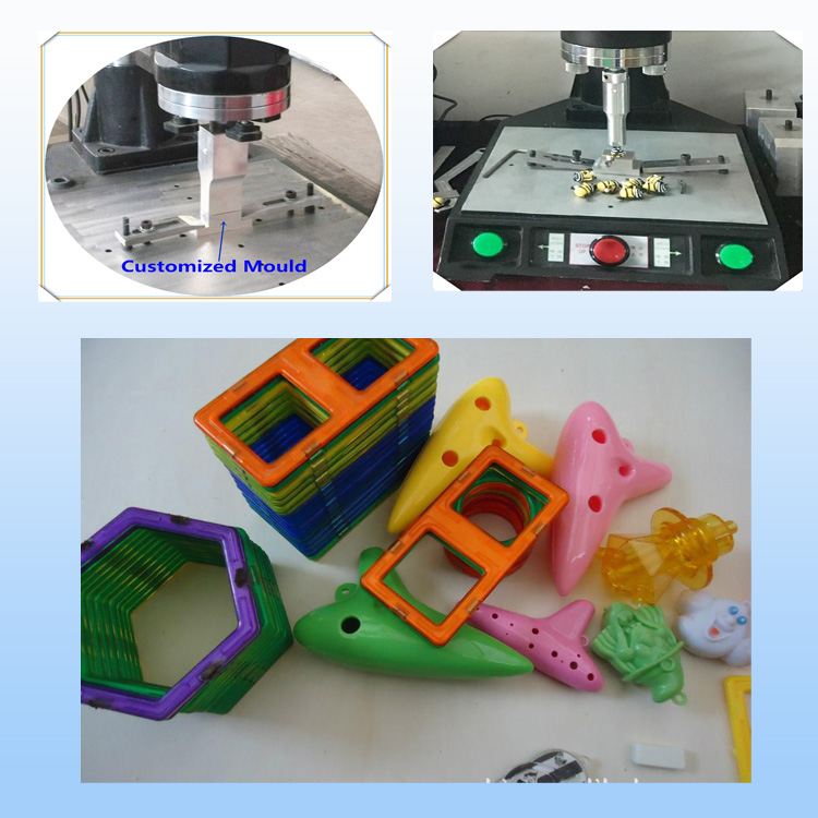 Ultrasonic Plastic Welding Machine untuk Toy Plastik