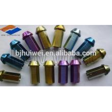 Titanium Ti6AL4V Radmuttern für Automobile